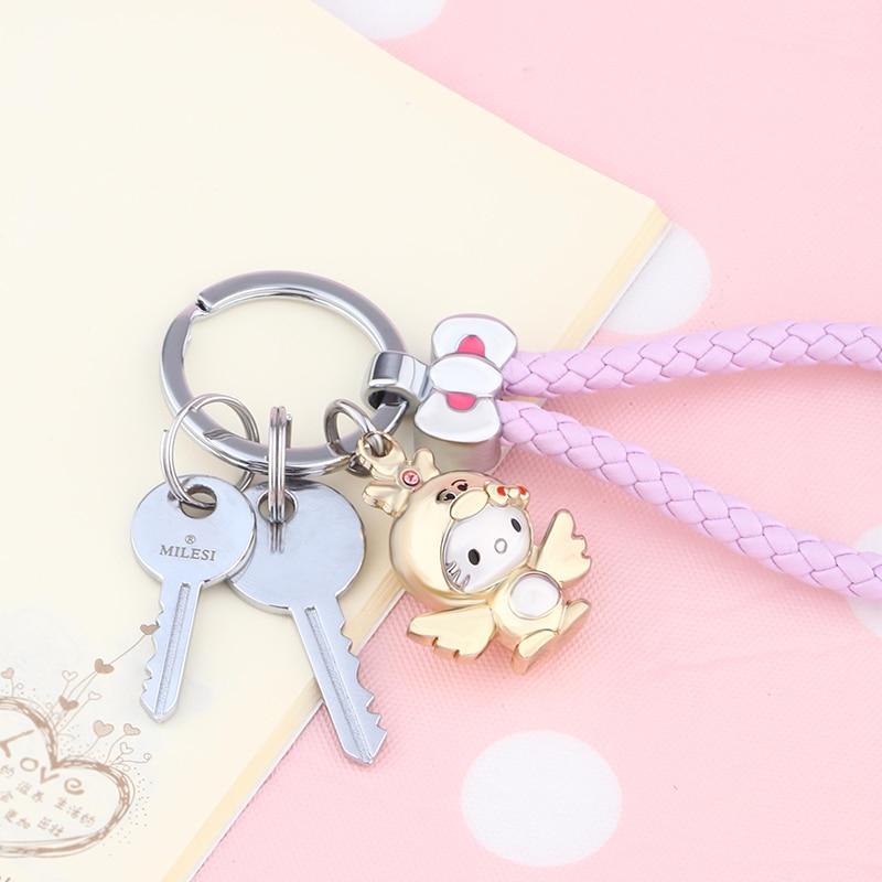 KT - 2017 Brand Cute Chickabiddy Cartoon Chicken Key Key Rings - Κοσμήματα μόδας - Φωτογραφία 4