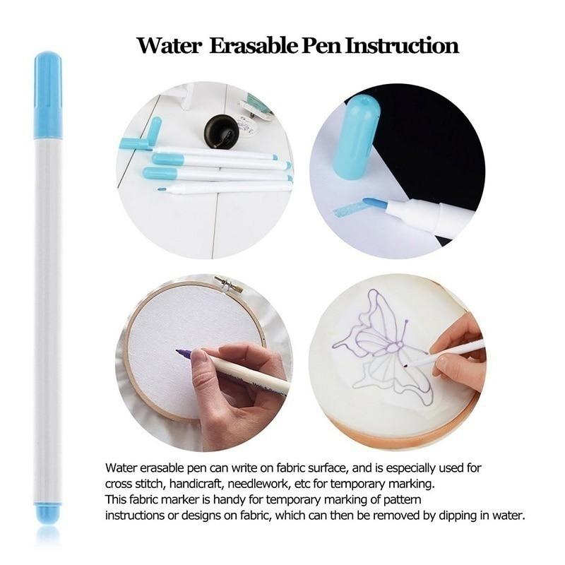 Magic Embroidery Pen Stitching Punch Needle Set Craft Knitting
