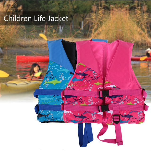 Children Kids Lifesaving Life Jacket Buoyancy Aid Flotation Device Boating  Surfing Vest Swimming Safety Survival Suit