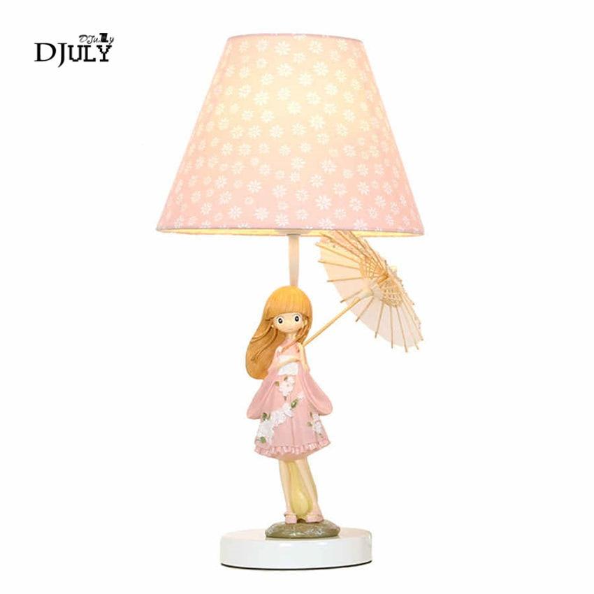 Japanese Umbrella Beautiful Girl Table Lamp Pink Girl Bedroom Deco Children Led Bed Light Home Decor Princess Room Desk Lamp Led Table Lamps Aliexpress