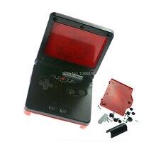 Kırmızı Sınırlı Sayıda Tam Konut Shell Kılıf Değiştirme GBA SP için