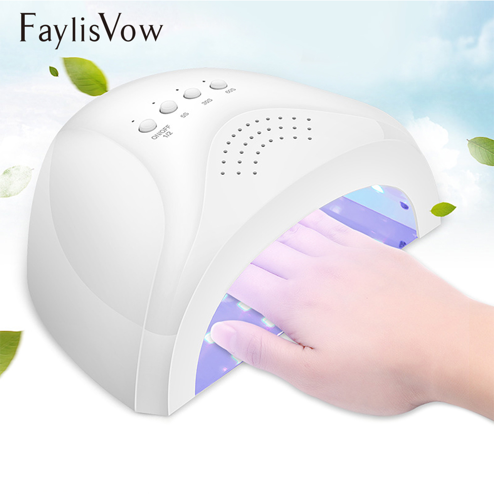SUNONE 24/48W UV Lamp Nail Dryer Manicure UV Lamps for Nails Drying for Gel Polish Curing Nail Art Dryer Manicure Machine blueness 1pcs 3d lavender flower nails art water stickers manicure uv gel transfer decals for manicure decorations accessories