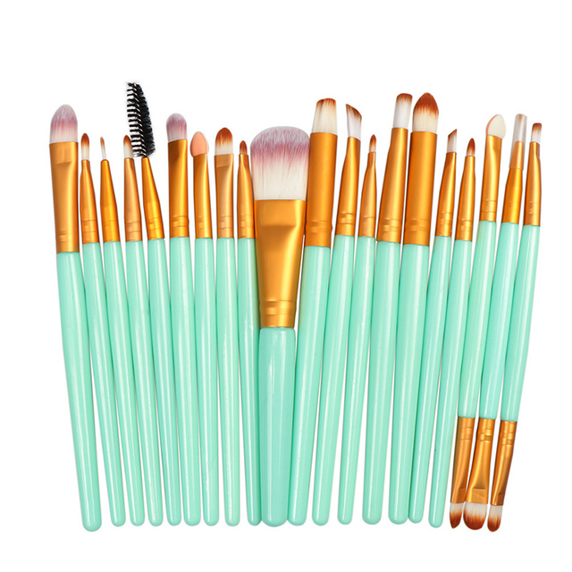 La Milee 20/5Pcs Makeup Brushes Set Eye Shadow Foundation Powder Eyeliner Eyelash Lip Make Up Brush Cosmetic Beauty Tool Kit Hot 1