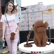 Adamo 3D Bag Original Ribbon Poodle Sling  handbag hotsale women clutch ladies purse crossbody messenger shoulder bags