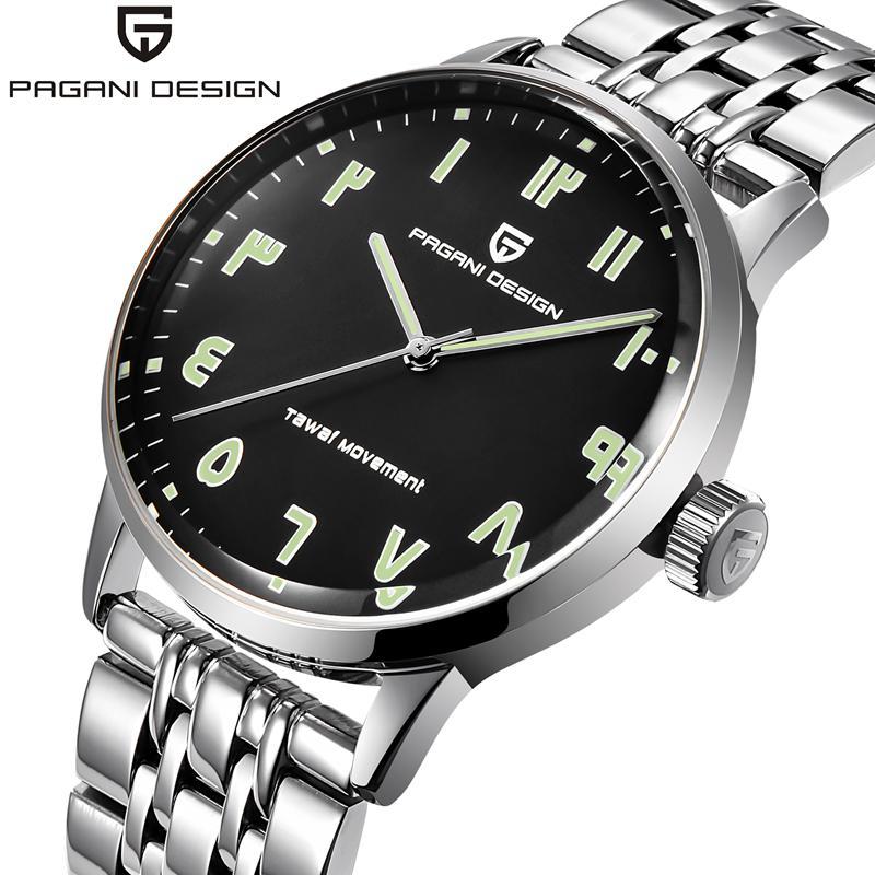 PAGANI Watches Men Top Luxury Cow Quartz-Watches Sport Men's Watches Waterproof Relogio Heren Hodinky Men Clock mens watches