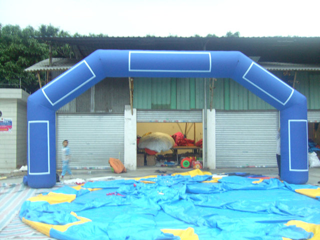 Multi inflatable arch