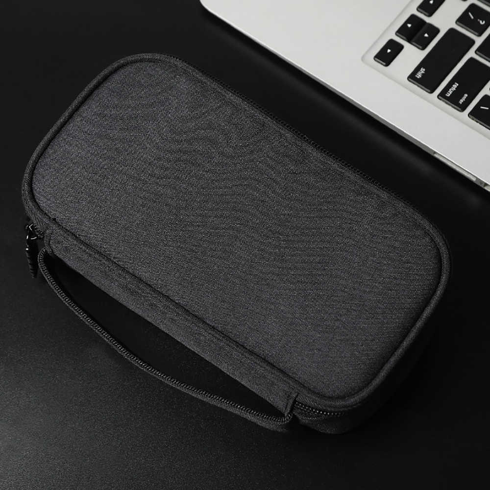 BUBM Power Bank Pouch, Protable Travel case Protective Carrying Case for External Battery Cable Charge Power Bank Pack