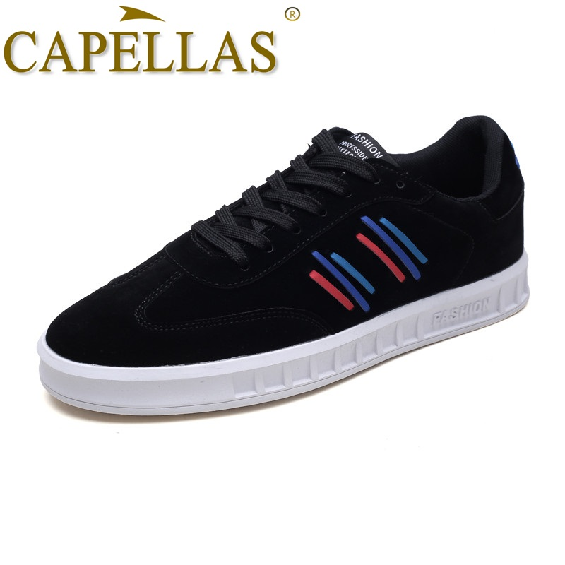 CAPELLAS Brand Men`s Shoes Sport Designer Breathable Mens Casual Shoes For Adult Fashion ...