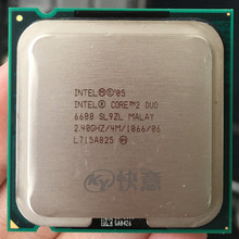 Intel Core 2 Duo E6600 CPU 2,4G \u0028procesador de 2,4 Ghz / 4M /1066GHz\u0029 775