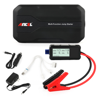 Ancel Car Jump Starter 12000mAh Portable Auto Emergency Battery Charger Booster Power Bank Mulit Function Battery