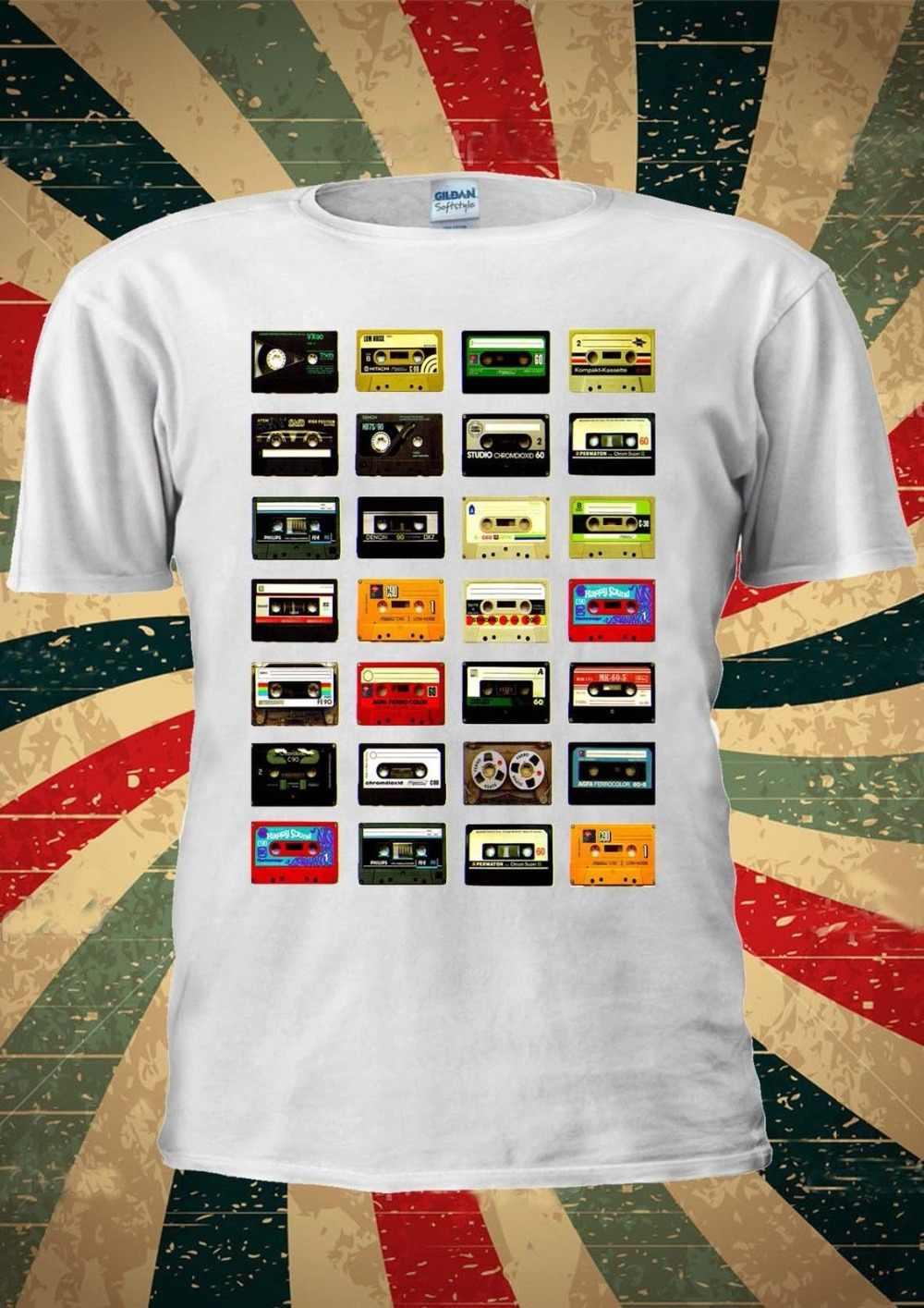 Casette/Новинка 2019 года; модные мужские футболки в винтажном стиле с изображением героев мультфильмов; коллекция 70-80 лет; Casete