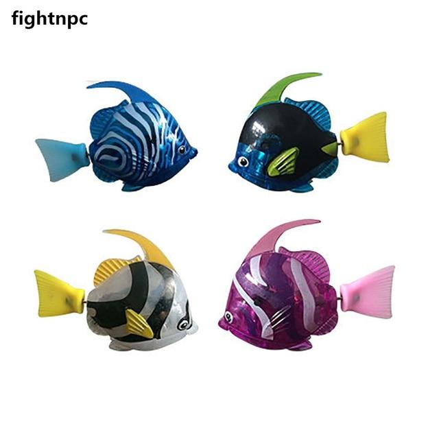 1PCS Robot Electronic Deep Sea Plastic Swimming Fish  3