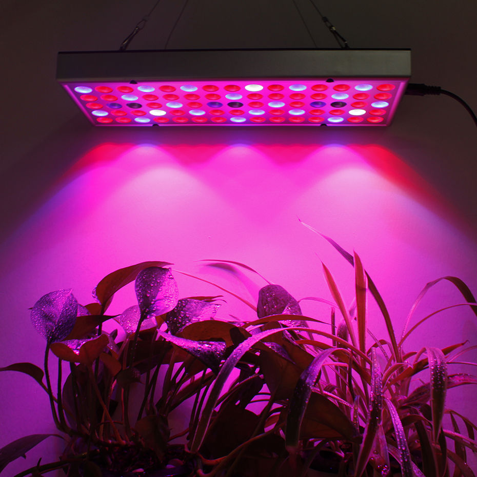 25W/45W Full Spectrum Panel LED Grow Light AC85~265V Greenhouse Horticulture Grow Lamp For Indoor Plant Flowering Growth