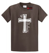 I Believe T Shirt Christian Faith God Prayer Jesus Holiday Gift Religious Tee Free shipping Tops t-shirt Fashion Classic cross t shirt religious religion swag jesus god christian faith bnwt gothicfree shipping tops t shirt