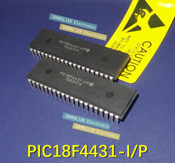 10pcs lot Free Shipping PIC18F4431 I P PIC18F4431 18F4431 DIP DIP 40 good quality
