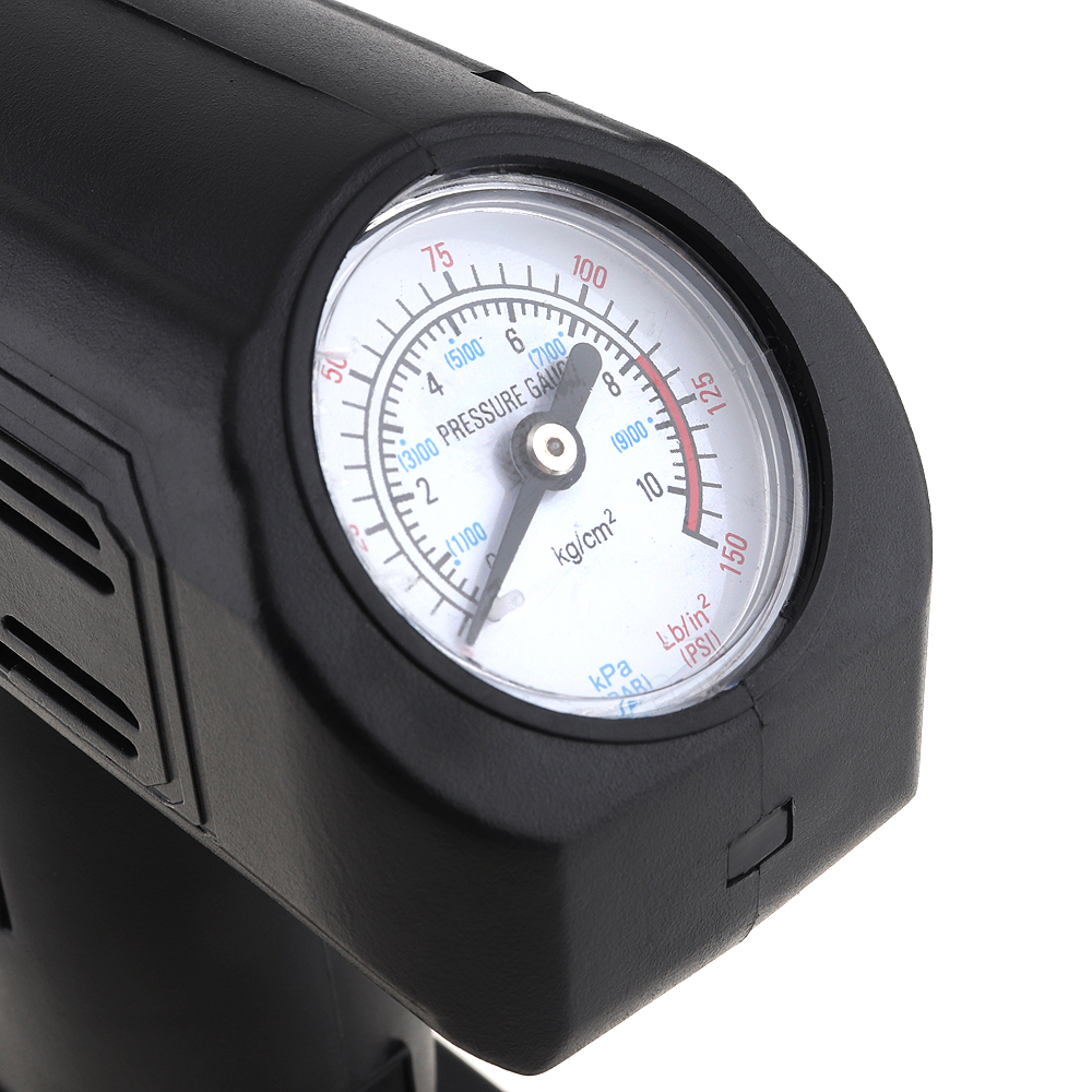 0 150PSI Portable 12V Car Air Compressor pump kompresor Tire Inflator Pump with 3M Power Cord and Cigarette Lighter Plug in Inflatable Pump from Automobiles Motorcycles