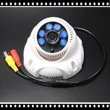 1/3 CMOS 700TVL Indoor Security CCTV Camera 6pcs IR LED Home Video Surveillance HD Night Vision Video Mini Dome Camera 1000tvl