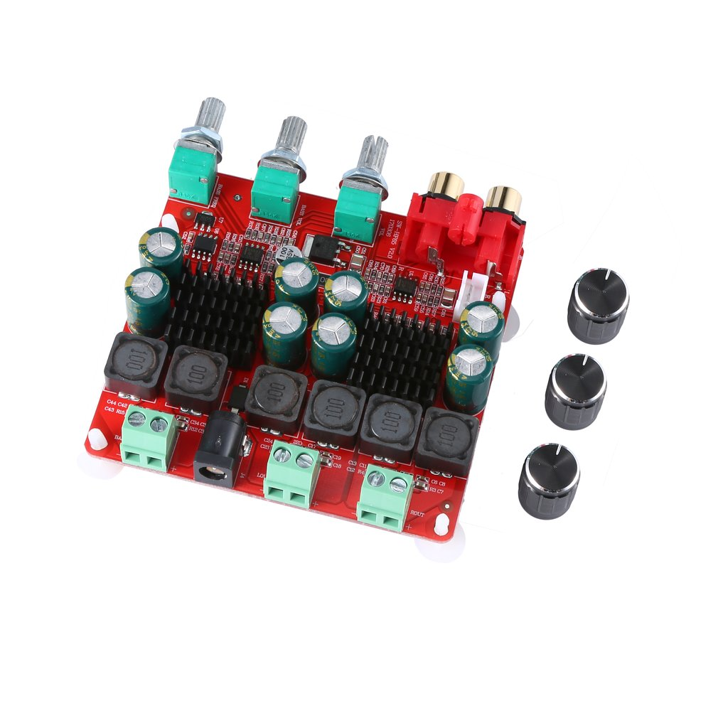 TPA3116 2.1 Power Amplifier Board 2x50+100w Digital Power Amplifier Board 2.1 Speaker Power Amplifier Board HF65B