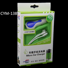 CYM-138 Quick Charge Care Four Car Charger 2.0 3.0 Mobile Phone Car-charger adapter For Cellphone
