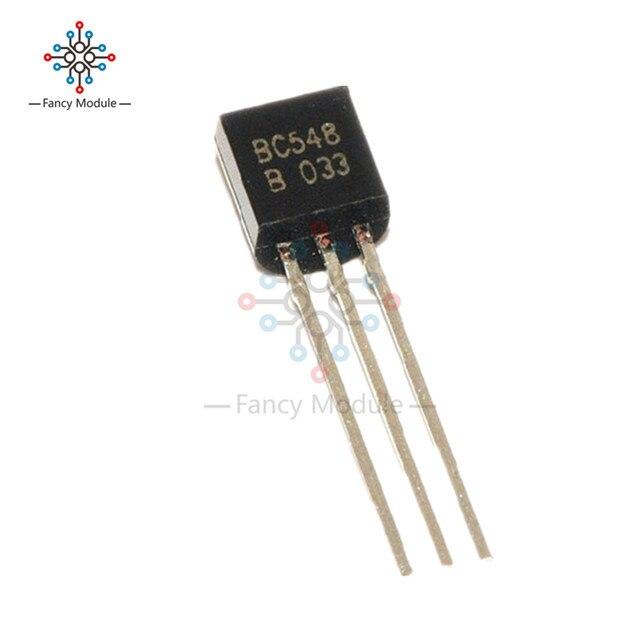 30Pcs BC548 TO-92 NPN 30V 0.1A Transistor