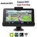 Eroad E16 HD 7 pulgadas Android de Navegación GPS Del Coche 16 GB WiFi Tablet PC Navegador 2016 Europa Del Norte/Sur Mapas de américa
