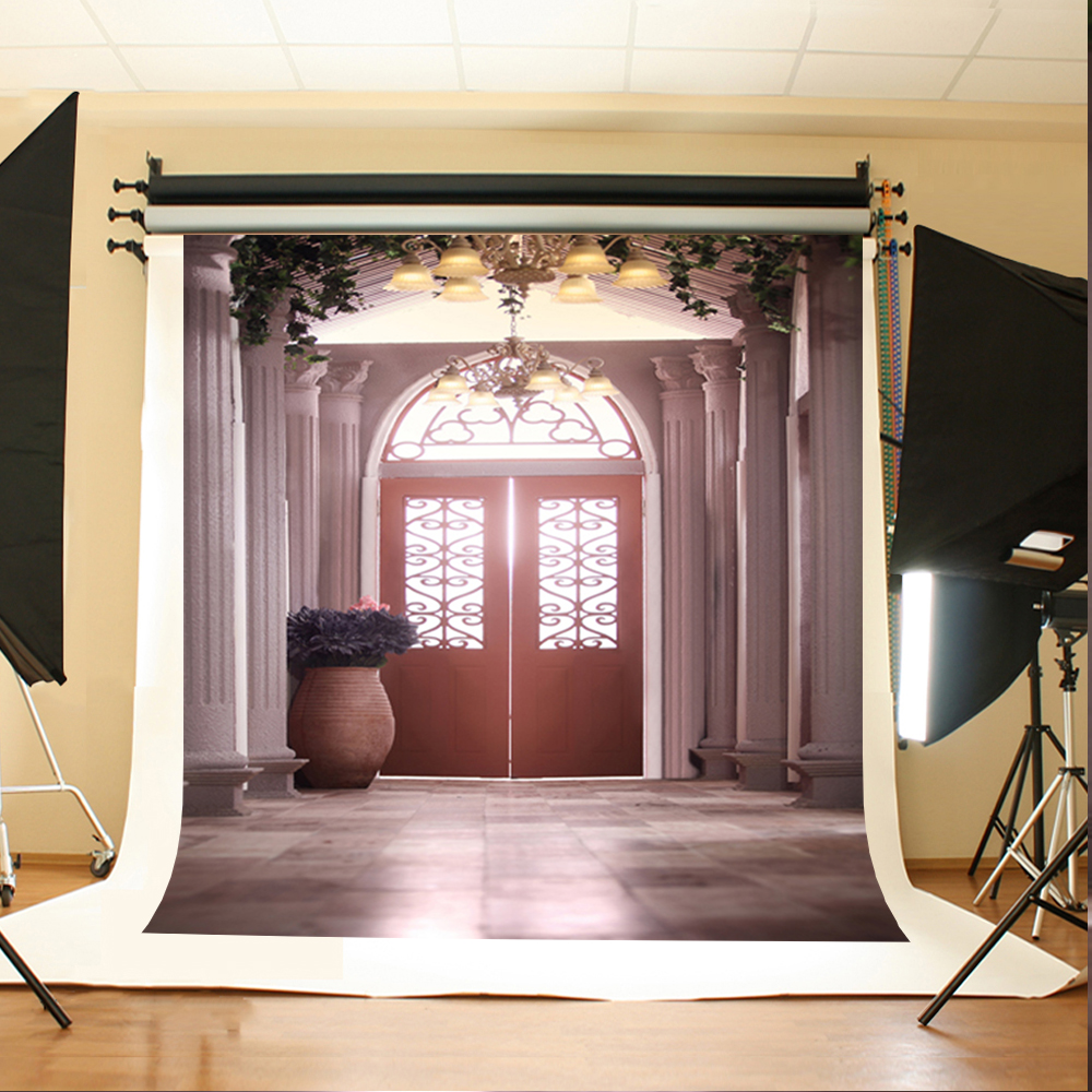Long Floor Background Backdrops for Photo Studio Custom Vinyl Backdrops fotografia Wood Door Background Photography Digital retro background christmas photo props photography screen backdrops for children vinyl 7x5ft or 5x3ft christmas033