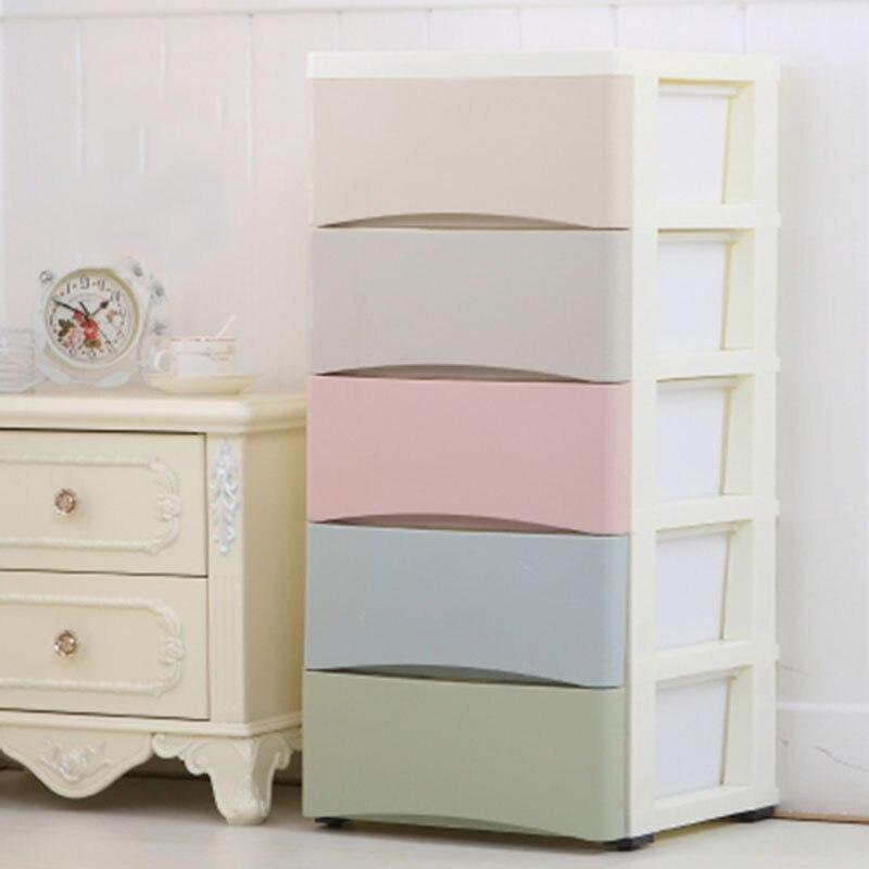 Minimalist Children Clothes Storage Cabinet Household Combination Underwear Socks Bra Storage Wardrobe Drawer Storage Cabinet|Wardrobes| |  - title=