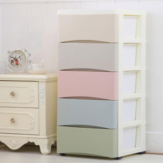 Minimalist Children Clothes Storage Cabinet Household Combination Underwear  Socks Bra Storage Wardrobe Drawer Storage Cabinet