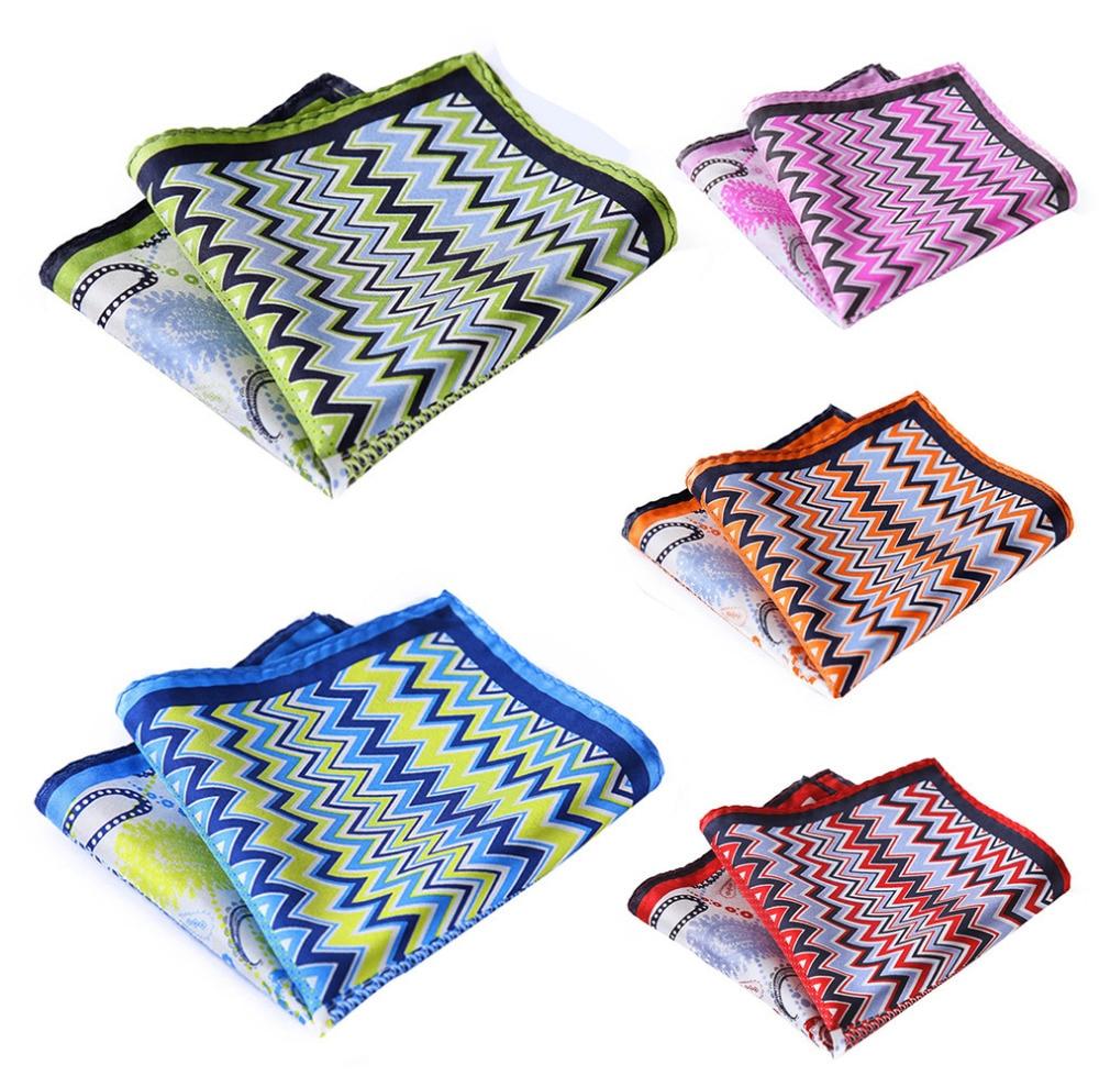 Handkerchief 100% Natural Silk Satin Mens Hanky Fashion Classic Wedding Party Pocket Square #N12