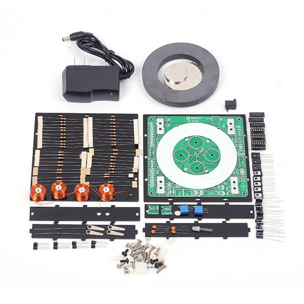 MS-500G DIY магнитной левитации комплект DC12V Магнитная подвеска для приостановлено подвеска комнатные растения комплект + Корпус