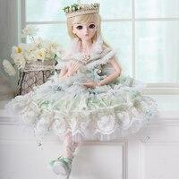 1/3 Девушка BJD Кукла Принцесса SD куклы с весь наряд макияж 18 Шарнирные тела ручной работы праздничная одежда обувь игрушки для коллекции