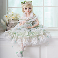 1/3 Girl BJD Doll Princess SD Dolls with Whole Outfit Makeup 18 Jointed Body Handmade Party Clothes Shoes Toys for Collection