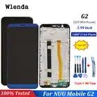 Для nuu mobile G2 ЖК дисплей и сенсорный экран с рамкой в сборе Замена с инструментами для nuu Mobile G2 - 1