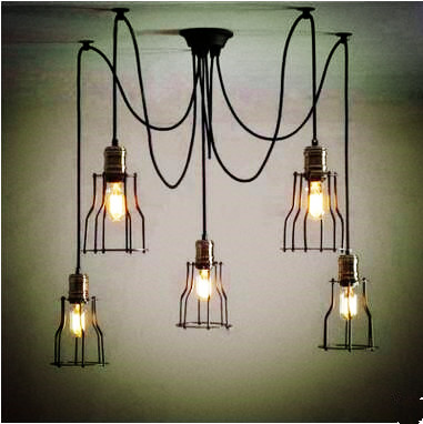 Edison Style Loft Industrial Lamp Vintage Pendant Lights Fixtures Dinning Room Lampen Hanging light Lamparas Colgantes retro loft style industrial vintage pendant lights hanging lamps edison pendant lamp for dinning room bar cafe