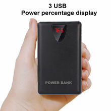 20000mah Power Bank 18650 USB external mobile charger Power Bank battery for iPhone xiaomi universal charger