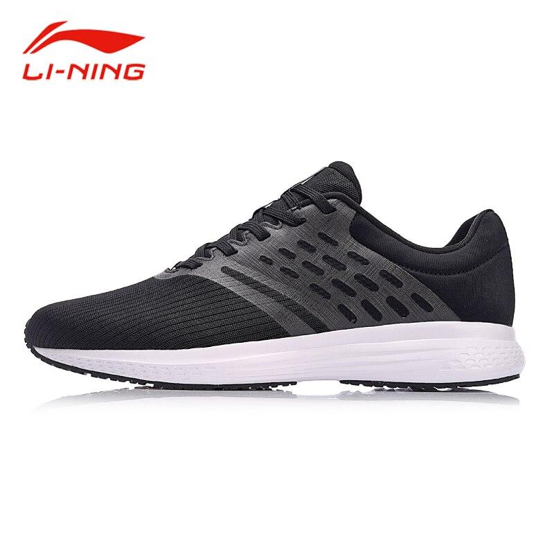 Li-ning Hommes 2018 VITESSE ÉTOILES Lumière Coussin Chaussures de Course Respirant Tissé Confort TPU Soutien Sneakers Doublure Sport Chaussures ARHN007