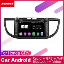 ZaiXi 2 DIN Auto DVD Player GPS Navi Navigation For Honda CRV 2012~2016 Car Android Multimedia System Screen Radio Stereo цена