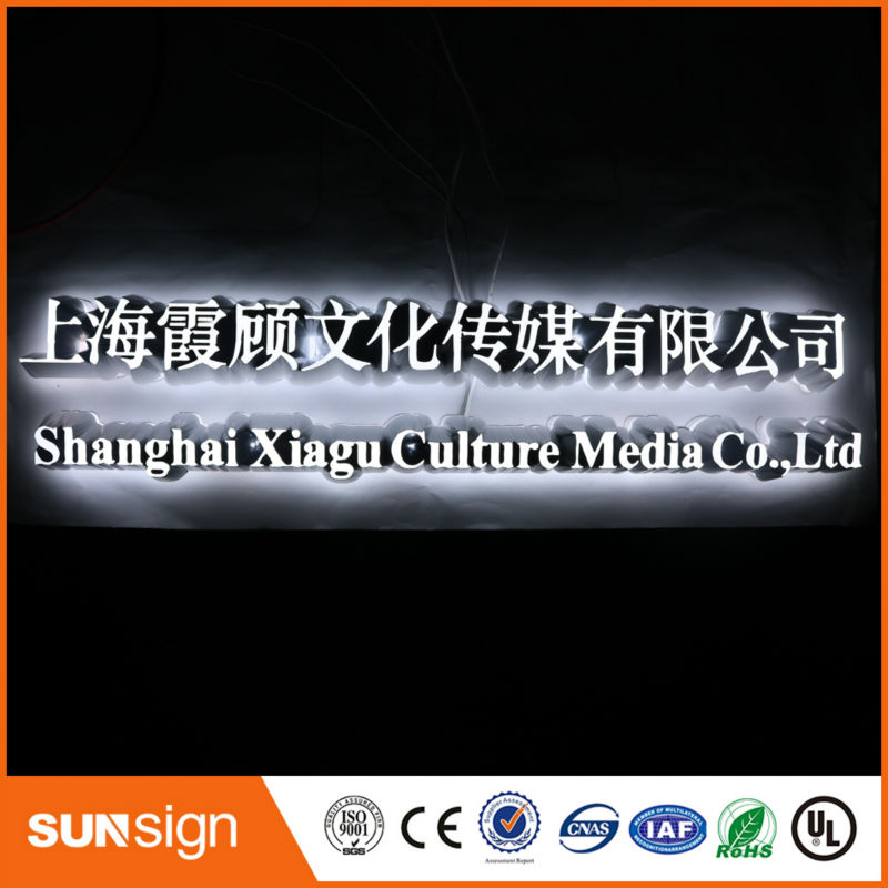 Factory Outlet Super High Brightness Custom Led Signs Indoor