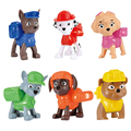 Children Gifts Figure Toys With Packing Box Pet Puppy Patrol American Movie Figure Patrol MARSHALL CHASE Patrouille Canine