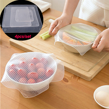 Stretchy Bowl Cover Silicone Suction Lid-bowl Cooking Pot lid Stretch Lid Dishware Covers &