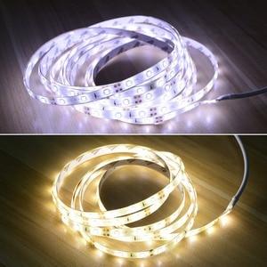 Image 4 - 110V 220V akıllı PIR hareket sensörü gece lambası 12V LED şerit lamba yapışkan bant ev merdiven için dolap mutfak dolap luminaria