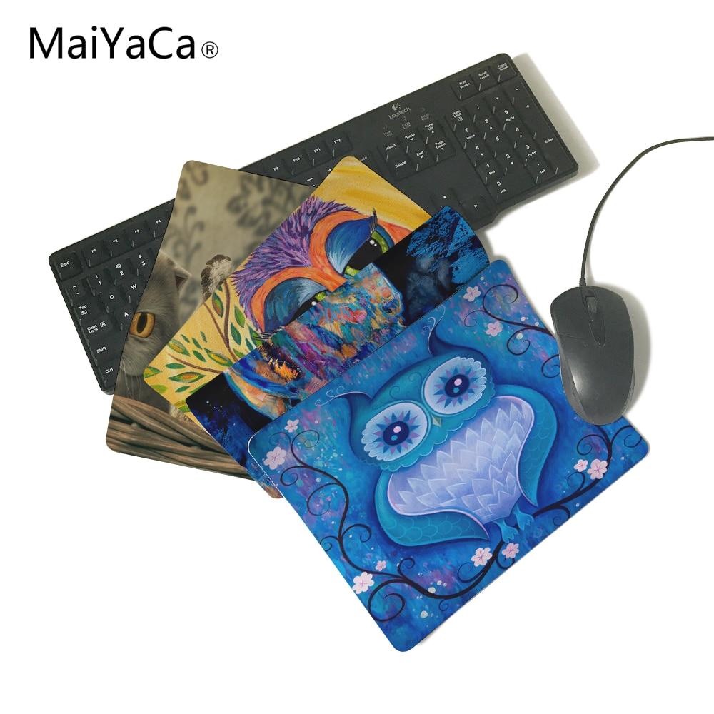 MaiYaCa Super popolare News Vendi nuovo pad di piccole dimensioni Mouse necessario Tappetino per mouse MatCute Pad antiscivolo in gomma