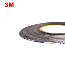(3mm*50M*0.15mm) Scotch Double Sided Adhesive Tape Sticker for HTC Samsung iphone Huawei Touch Screen Glass Original 3M 9448AB