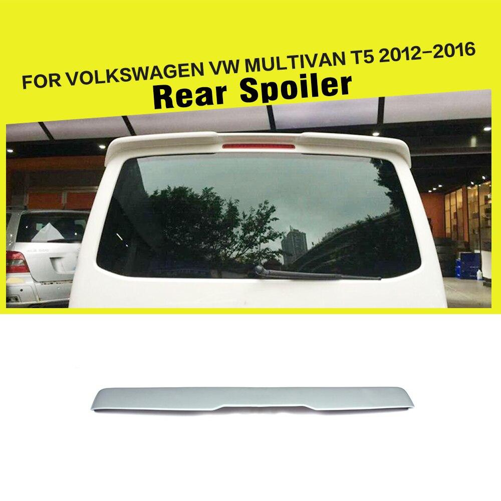 Aileron d'aile de lèvre supérieure d'apprêt non peint de FRP pour Volkswagen VW Multivan T5 2012-2016