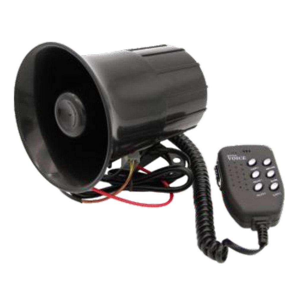 Motorfiets Speaker 12V Auto Vrachtwagen Waarschuwing Alarm 6 Sound Tone Voertuig Sirene Fire Ambulance Hoorn Durabel Luidspreker