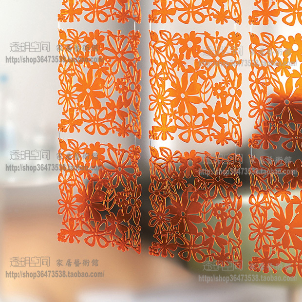 3030 Acrylic folding screen room divider partition curtain