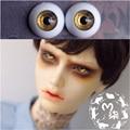 1 Retail BJD Doll Accessories Eyeball12MM 14MM 16MM Golden Color Acrylic Eyes Doll BJD Doll Eyes