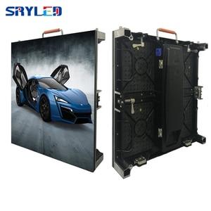 Image 1 - Dellinterno di colore completo antipolvere display P3.91 P4 P4.81 P5 P6 ultra sottile schermo A LED display, noleggio indoor LED grande schermo