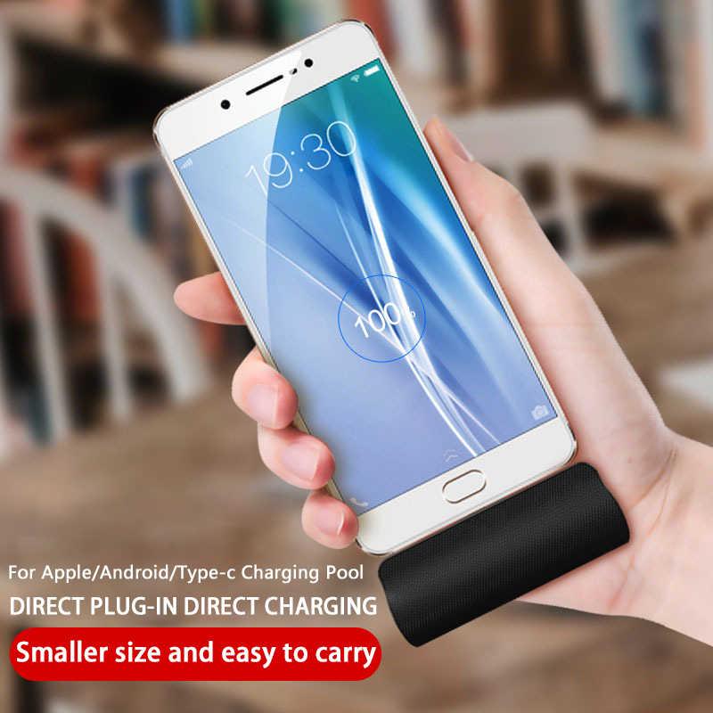 NOHON 3000 mAh 急速充電ポータブル携帯電源 Lg の Android 電話の小型ポケット電源銀行と送料ケーブル