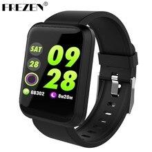 d46377946a5 FREZEN Sport3 Homens Relógio Inteligente Pressão Arterial IP68 À Prova D   Água Relógio de Fitness